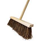 "12"" Heavy Duty Hard Rustic Yard Brush"