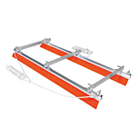 This Marion Brush rope system allows large areas of concrete and screed to have a smooth finish. Available from Speedcrete, United Kingdom.