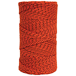 Super Tough Bonded Braided Nylon Line Orange & Black