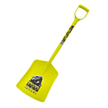 The new Gorilla® Shovel is a tough Plastic shovel design for a multitude of tasks including DIY, Construction, Building, Clear up even cleaning out the horses, Available from Speedcrete, United Kingdom.