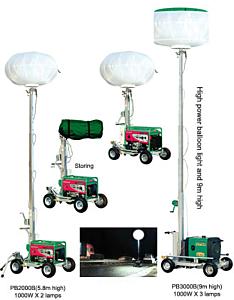 HI-PO Lite-Man 360 Degree Lighting Tower