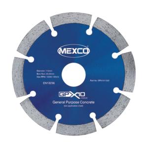 115mm Mexco GPX Diamond Blade