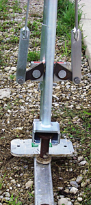 """JACKJAW 302 Marquee Stake Extractor < 42"""""""