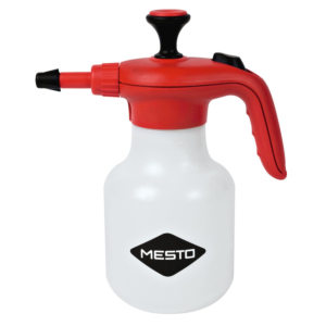 Pressure sprayers are designed for spraying detergents, disinfectants, anti-corrosion agents, impregnating agents and other care products.