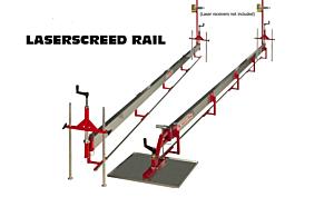 Laserscreed Rail