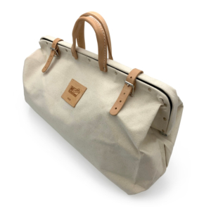 Canvas tool bag from Kraft tools, available from Speedcrete United Kingdom.