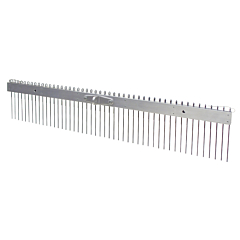 "48"" Flat Wire Texture Broom - 3/4"" Spacing"