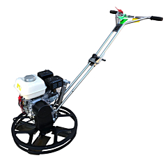 For edge power floating, the Moskito 24 is a manual starter petrol Honda engine. Avail to hire from Speedcrete, United Kingdom. Concrete flooring specialists.