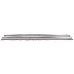 """48"""" x 8"""" Multi-Trac Bull Float Groover Blade - 1/2"""" Spacing. A popular tool to create non-skid surfaces on streets, highways, off ramps, safety ramps, and bridges."""