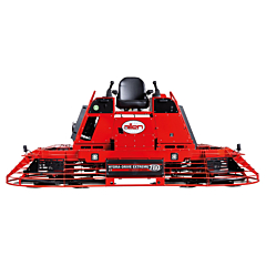 The hydra-drive extreme HDX780 ride-on power trowel supplied by Speedcrete. United Kingdom suppliers.