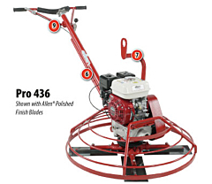 "Allen 36"" Pro Series Power Trowel"