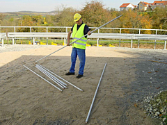 Screed rail kit - 25mm diameter 4 x 3.0m, 4 x 2.5m & 2 x 1.5m