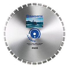 Husqvarna F635 | Cured Concrete Diamond Blade