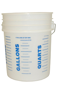19 Litre Measuring Bucket