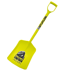 The Gorilla Shovel™ is a solid, single piece plastic shovel made from a very thick, high quality plastic which will be sure to do the same job as any other shovel. Available from Speedcrete. United Kingdom.