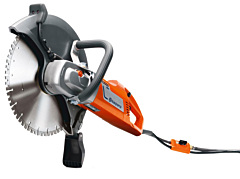 """Husqvarna K4000 Wet/Dry 14"""" Electric Saw c/w Blade"""