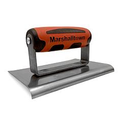 Marshalltown Curved End Hand Edger 6 x 4 x 1/4