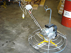 "Hire 36"" Electric Power Trowel"