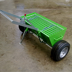 Topping spreader available from Speedcrete, United Kingdom.