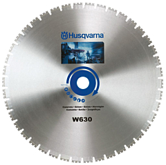 Husqvarna W630 | Diamond Blade | Slot cutting + Traffic Loops