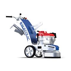 Blastrac petrol floor grinder to hire by Speedcrete, United Kingdom.