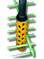 Oztec Concrete Vibrator RubberHead