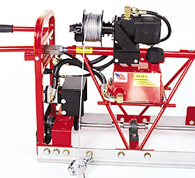 Feature - Standard Duty Hydraulic Winches