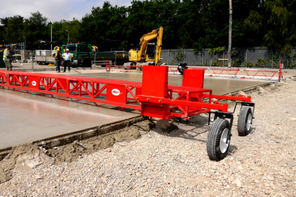 First time Allen Work Bridges are used in UK